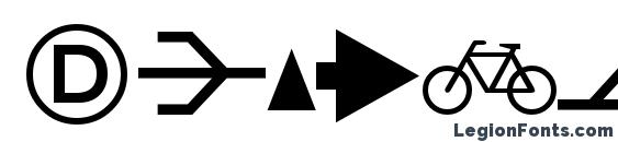 DeutscheBahnAG Three Font, Icons Fonts