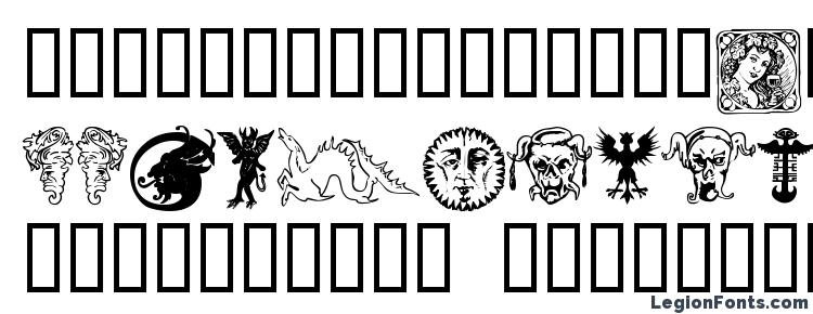glyphs Devils and dragons font, сharacters Devils and dragons font, symbols Devils and dragons font, character map Devils and dragons font, preview Devils and dragons font, abc Devils and dragons font, Devils and dragons font