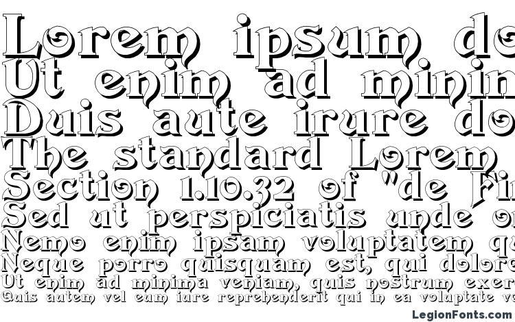 образцы шрифта Devinne Swash Shadow, образец шрифта Devinne Swash Shadow, пример написания шрифта Devinne Swash Shadow, просмотр шрифта Devinne Swash Shadow, предосмотр шрифта Devinne Swash Shadow, шрифт Devinne Swash Shadow