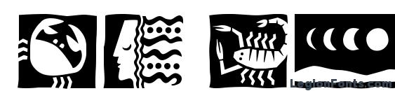 DF Holistics ITC TT Font, Icons Fonts