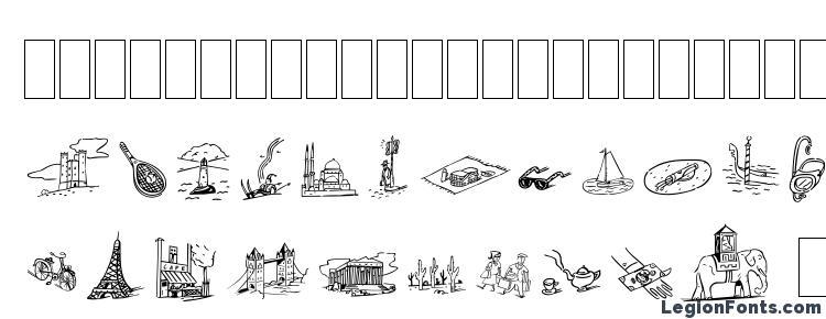 glyphs Dfjourneysone font, сharacters Dfjourneysone font, symbols Dfjourneysone font, character map Dfjourneysone font, preview Dfjourneysone font, abc Dfjourneysone font, Dfjourneysone font