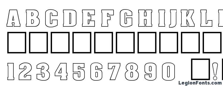 глифы шрифта Dg aachenoutline normal, символы шрифта Dg aachenoutline normal, символьная карта шрифта Dg aachenoutline normal, предварительный просмотр шрифта Dg aachenoutline normal, алфавит шрифта Dg aachenoutline normal, шрифт Dg aachenoutline normal