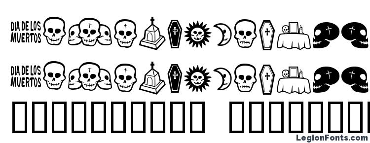 glyphs Dia de los muertos bv font, сharacters Dia de los muertos bv font, symbols Dia de los muertos bv font, character map Dia de los muertos bv font, preview Dia de los muertos bv font, abc Dia de los muertos bv font, Dia de los muertos bv font