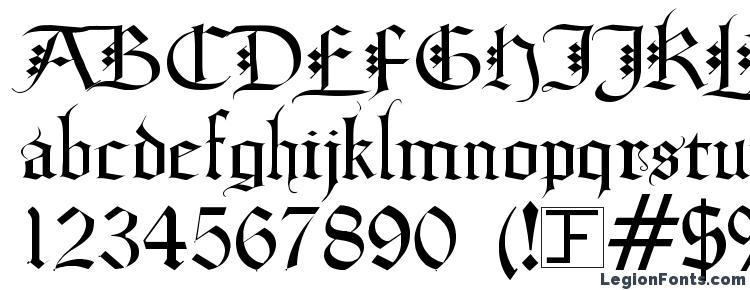 glyphs Diamond Gothic font, сharacters Diamond Gothic font, symbols Diamond Gothic font, character map Diamond Gothic font, preview Diamond Gothic font, abc Diamond Gothic font, Diamond Gothic font