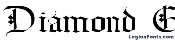 Шрифт Diamond Gothic