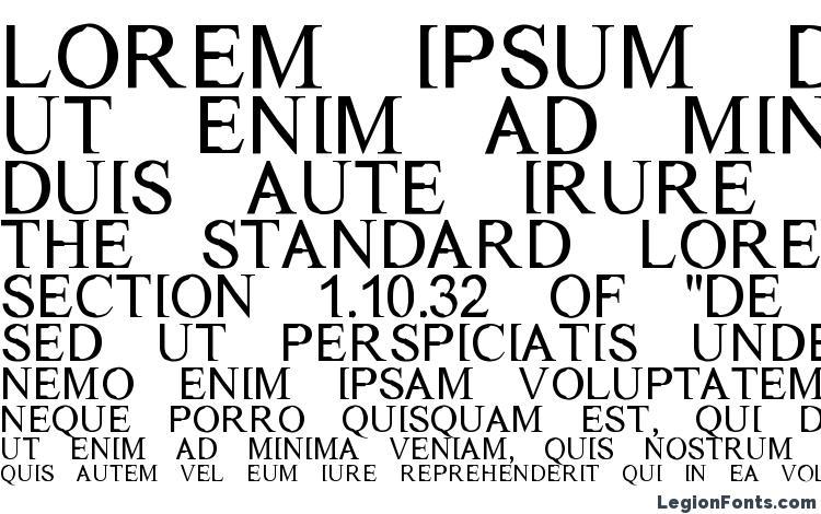 specimens Dichotomy regular font, sample Dichotomy regular font, an example of writing Dichotomy regular font, review Dichotomy regular font, preview Dichotomy regular font, Dichotomy regular font