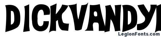 DickVanDykeBold Font