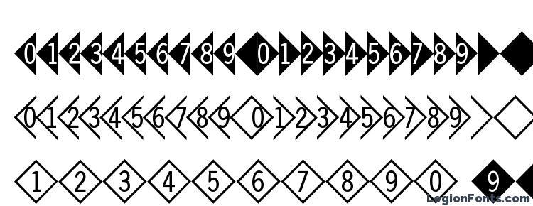 глифы шрифта DigitsandPairsD, символы шрифта DigitsandPairsD, символьная карта шрифта DigitsandPairsD, предварительный просмотр шрифта DigitsandPairsD, алфавит шрифта DigitsandPairsD, шрифт DigitsandPairsD