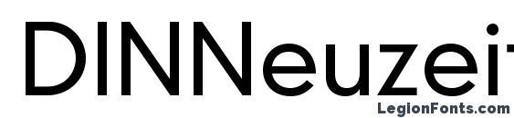 DINNeuzeitGroteskStd Light Font, OTF Fonts