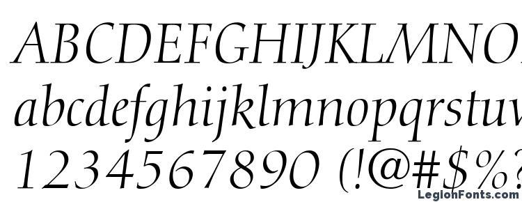 glyphs Diotima LT Italic font, сharacters Diotima LT Italic font, symbols Diotima LT Italic font, character map Diotima LT Italic font, preview Diotima LT Italic font, abc Diotima LT Italic font, Diotima LT Italic font