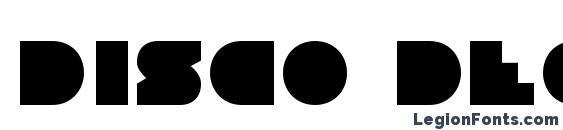 Disco Deck Font