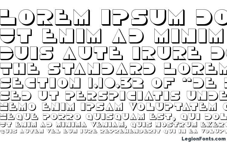 specimens Disco Duck 3D font, sample Disco Duck 3D font, an example of writing Disco Duck 3D font, review Disco Duck 3D font, preview Disco Duck 3D font, Disco Duck 3D font