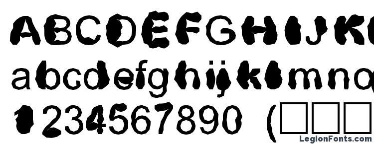 глифы шрифта Distrowt, символы шрифта Distrowt, символьная карта шрифта Distrowt, предварительный просмотр шрифта Distrowt, алфавит шрифта Distrowt, шрифт Distrowt