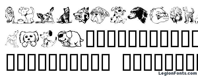 glyphs Doggart font, сharacters Doggart font, symbols Doggart font, character map Doggart font, preview Doggart font, abc Doggart font, Doggart font