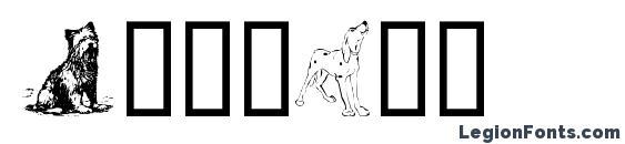 Шрифт Doggart