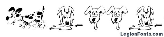 Шрифт Doggon