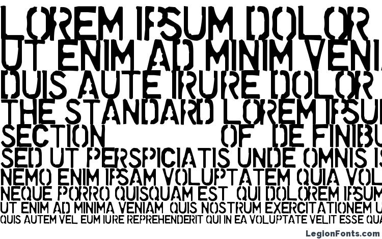 specimens Dollar Store Stencil font, sample Dollar Store Stencil font, an example of writing Dollar Store Stencil font, review Dollar Store Stencil font, preview Dollar Store Stencil font, Dollar Store Stencil font