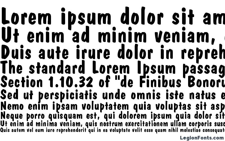 specimens Dom Casual LT Bold font, sample Dom Casual LT Bold font, an example of writing Dom Casual LT Bold font, review Dom Casual LT Bold font, preview Dom Casual LT Bold font, Dom Casual LT Bold font