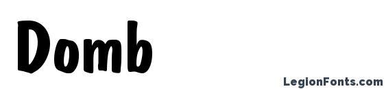Domb Font