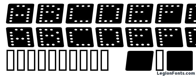 glyphs Domino flad kursiv font, сharacters Domino flad kursiv font, symbols Domino flad kursiv font, character map Domino flad kursiv font, preview Domino flad kursiv font, abc Domino flad kursiv font, Domino flad kursiv font