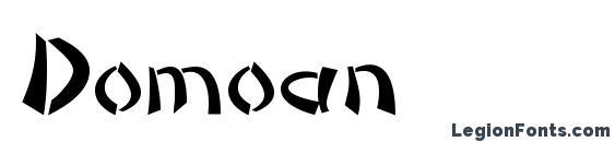 Domoan Font