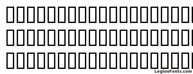 глифы шрифта DOOMED, символы шрифта DOOMED, символьная карта шрифта DOOMED, предварительный просмотр шрифта DOOMED, алфавит шрифта DOOMED, шрифт DOOMED