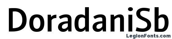 DoradaniSb Regular Font