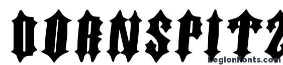 Dornspitzgrotesk Font, Halloween Fonts