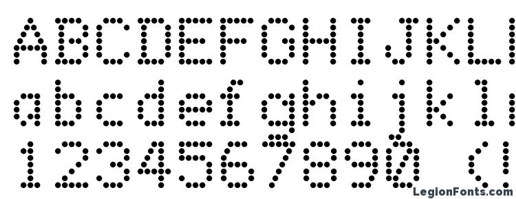 Dot Matrix Font Download Free Legionfonts