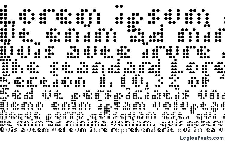 specimens Dot short of a matrix font, sample Dot short of a matrix font, an example of writing Dot short of a matrix font, review Dot short of a matrix font, preview Dot short of a matrix font, Dot short of a matrix font
