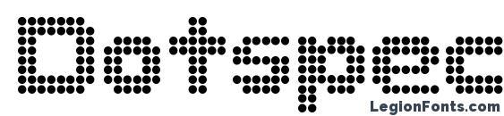 Dotspecial Font