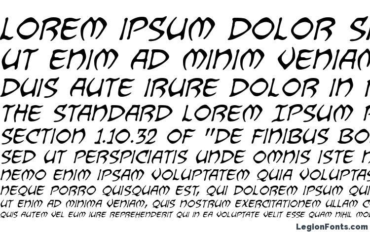specimens Dragonbones BB Italic font, sample Dragonbones BB Italic font, an example of writing Dragonbones BB Italic font, review Dragonbones BB Italic font, preview Dragonbones BB Italic font, Dragonbones BB Italic font