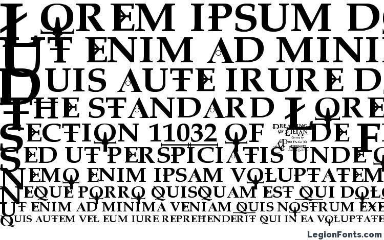 specimens Dreaming of lilian font, sample Dreaming of lilian font, an example of writing Dreaming of lilian font, review Dreaming of lilian font, preview Dreaming of lilian font, Dreaming of lilian font