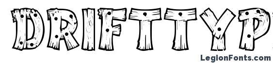 DriftType Font