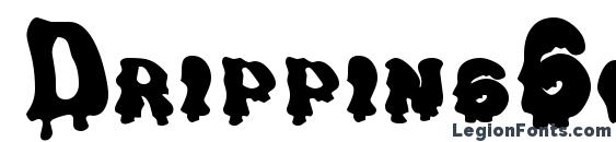 DrippingGoo Font