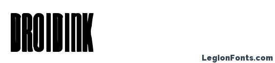 DroidInk Font