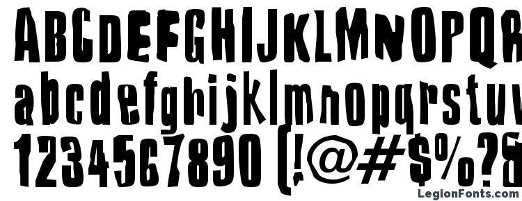 глифы шрифта Druillet, символы шрифта Druillet, символьная карта шрифта Druillet, предварительный просмотр шрифта Druillet, алфавит шрифта Druillet, шрифт Druillet