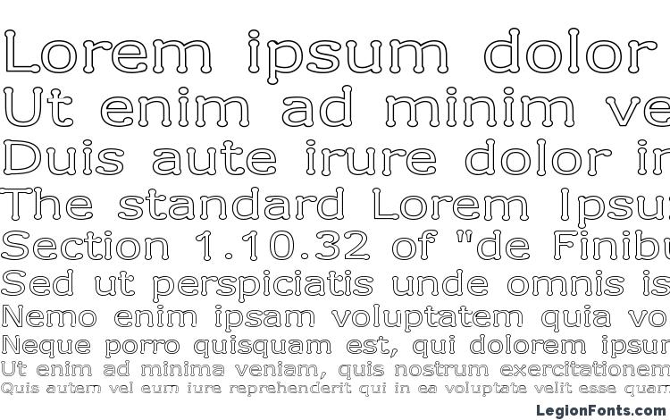 specimens Drummon Outline font, sample Drummon Outline font, an example of writing Drummon Outline font, review Drummon Outline font, preview Drummon Outline font, Drummon Outline font
