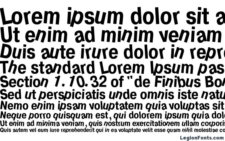 specimens Drunkc font, sample Drunkc font, an example of writing Drunkc font, review Drunkc font, preview Drunkc font, Drunkc font