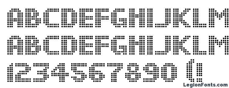 glyphs DS Dots Medium font, сharacters DS Dots Medium font, symbols DS Dots Medium font, character map DS Dots Medium font, preview DS Dots Medium font, abc DS Dots Medium font, DS Dots Medium font