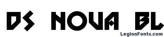 Шрифт DS Nova Black