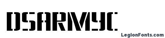 Dsarmyc Font