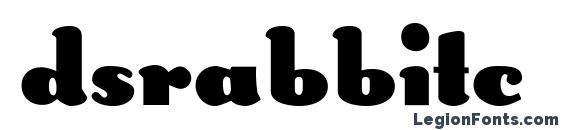 Dsrabbitc Font, Stylish Fonts