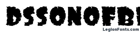 Dssonofblack font, free Dssonofblack font, preview Dssonofblack font