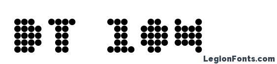 DT 104 Font