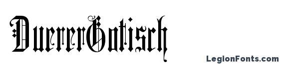 DuererGotisch Font