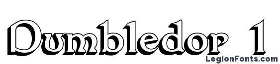 Dumbledor 1 3D Font