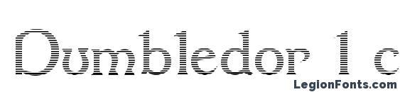 Dumbledor 1 cut down Font
