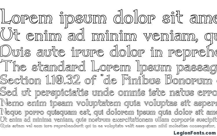 образцы шрифта Dumbledor 1 Outline, образец шрифта Dumbledor 1 Outline, пример написания шрифта Dumbledor 1 Outline, просмотр шрифта Dumbledor 1 Outline, предосмотр шрифта Dumbledor 1 Outline, шрифт Dumbledor 1 Outline