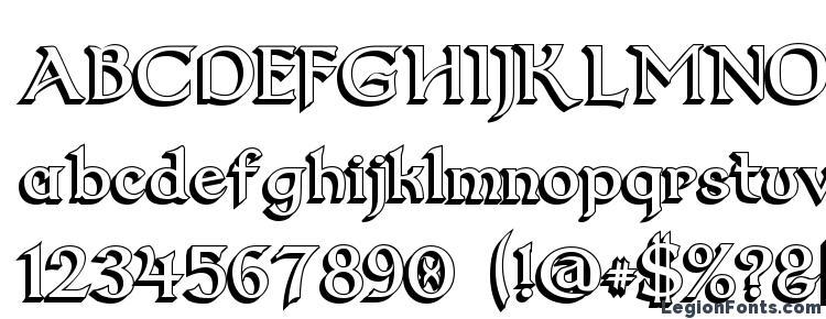 glyphs Dumbledor 2 3D font, сharacters Dumbledor 2 3D font, symbols Dumbledor 2 3D font, character map Dumbledor 2 3D font, preview Dumbledor 2 3D font, abc Dumbledor 2 3D font, Dumbledor 2 3D font